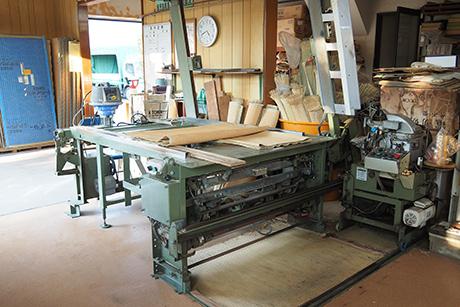 畳製作工場の紹介